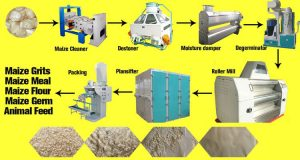 flow chart for maize mill machines